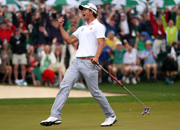 Adam Scott and his Scotty Cameron Futura X