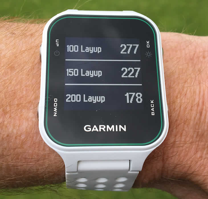 how to use the garmin approach s20