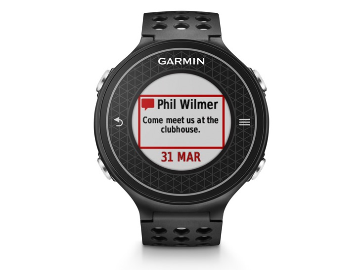 Garmin's Smart Notification service