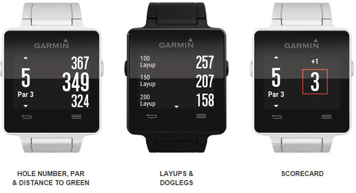Garmin Sports Watch >> Garmin Vivoactive Watch Includes Golf In Activity Track ...
