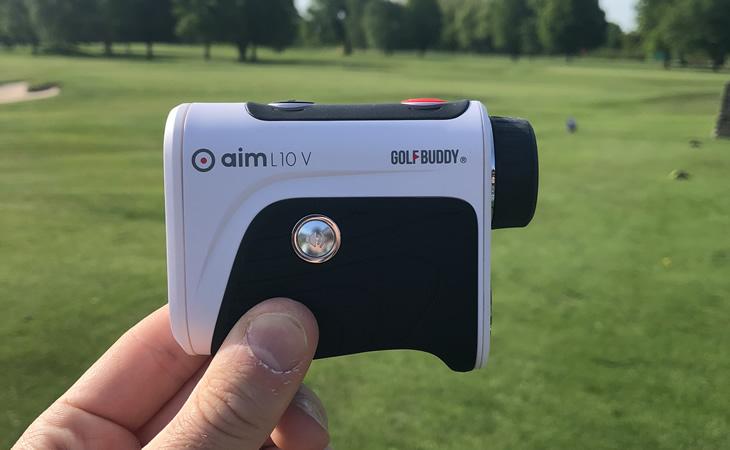 GolfBuddy aim L10V Golf GPS Rangefinder Review - Golfalot