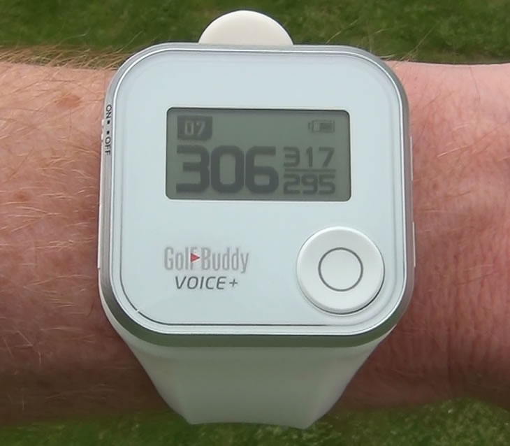 GolfBuddy Voice+ GPS Screen