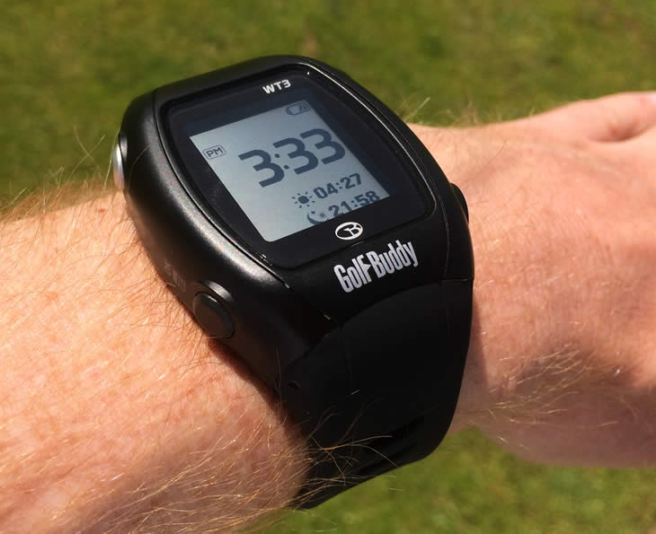 GolfBuddy WT3 Watch