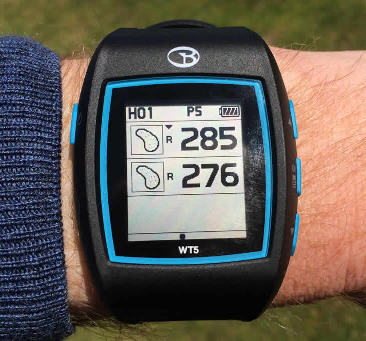GolfBuddy WT5 Watch