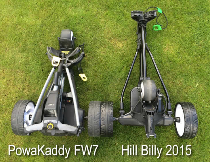 Hill Billy 2015 Electric Golf Trolley Review