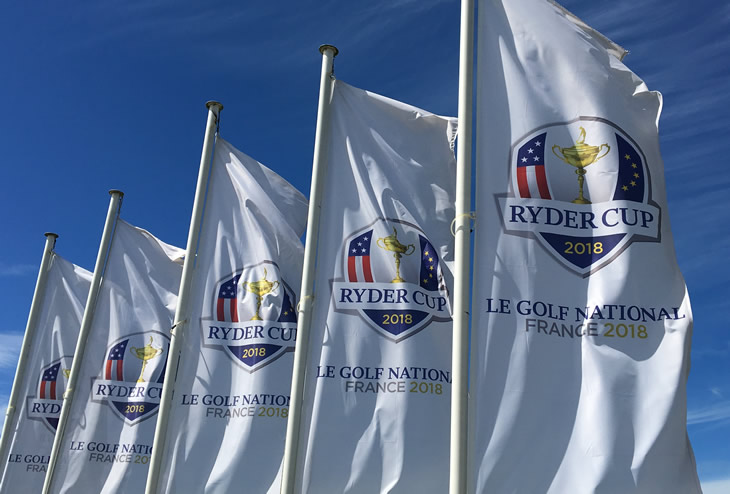 Ryder Cup 2018 Flags