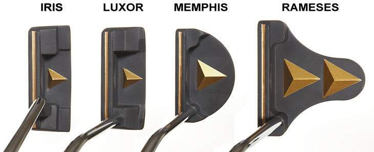 Lynx Swash Putters At Address