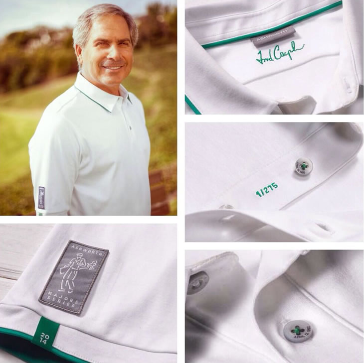 Ashworth's Fred Couples Polo Shirt