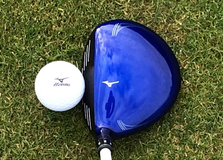 Mizuno JPX850 Fairway Address