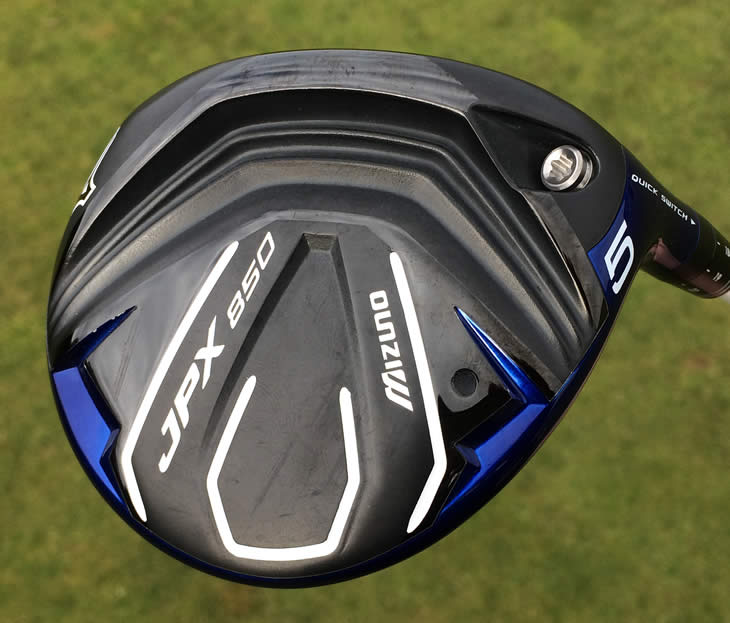 Mizuno JPX850 Fairway Shockwave Sole