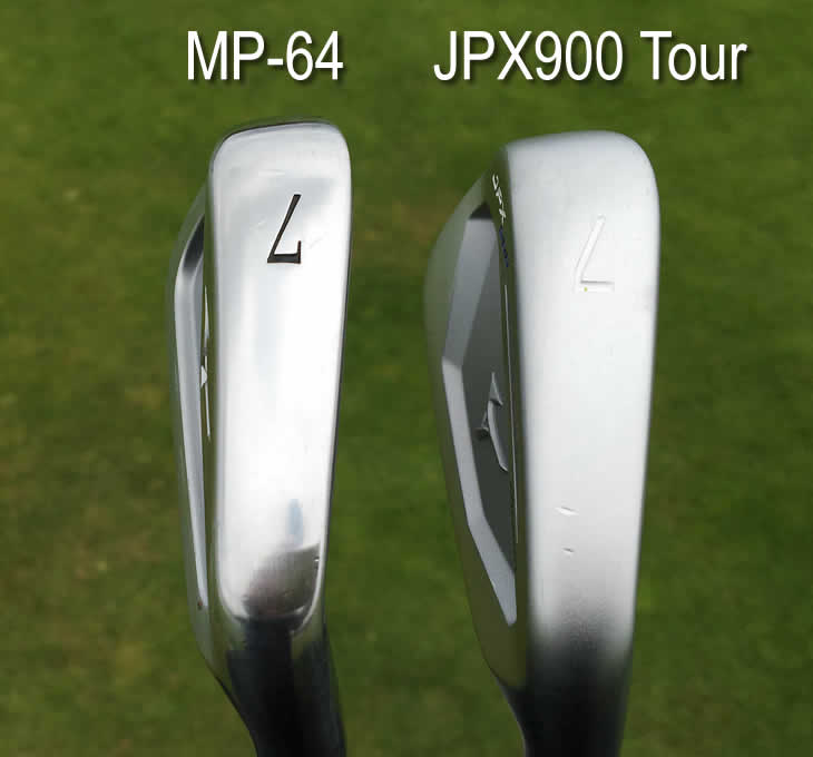 mizuno mp 54 vs mp 64