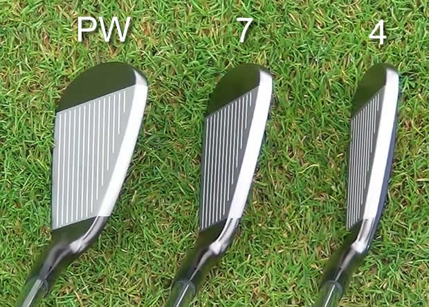 Mizuno JPX EZ Forged Irons Address View