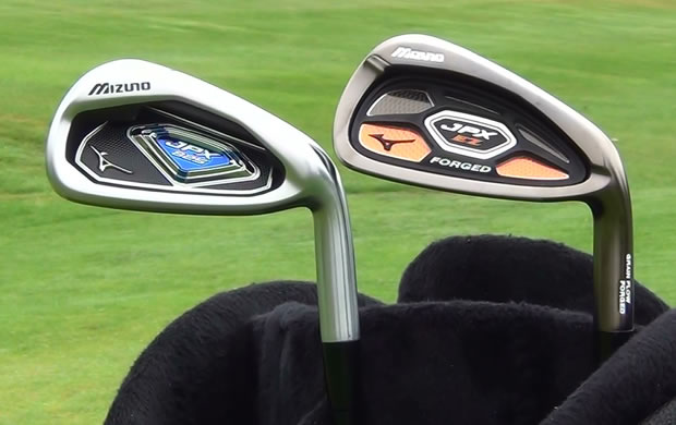 Mizuno JPX EZ Forged Irons vs JPX 825