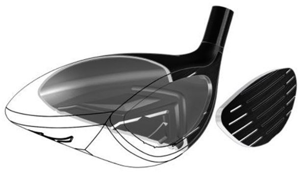 Mizuno JPX EZ Fairway Wood Face Construction