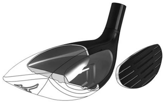 Mizuno JPX EZ Hybrid Face Construction