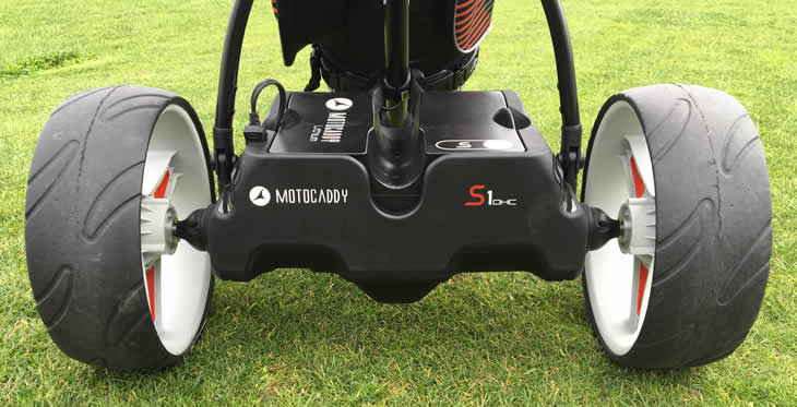 Motocaddy S1 DHC Electric Trolley