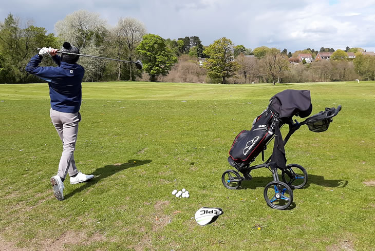Motocaddy Cube Trolley Review