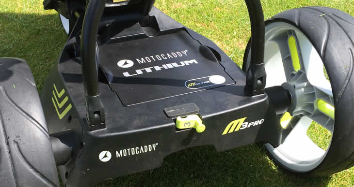 motocaddy m3 pro golf trolley review golfalot. Black Bedroom Furniture Sets. Home Design Ideas