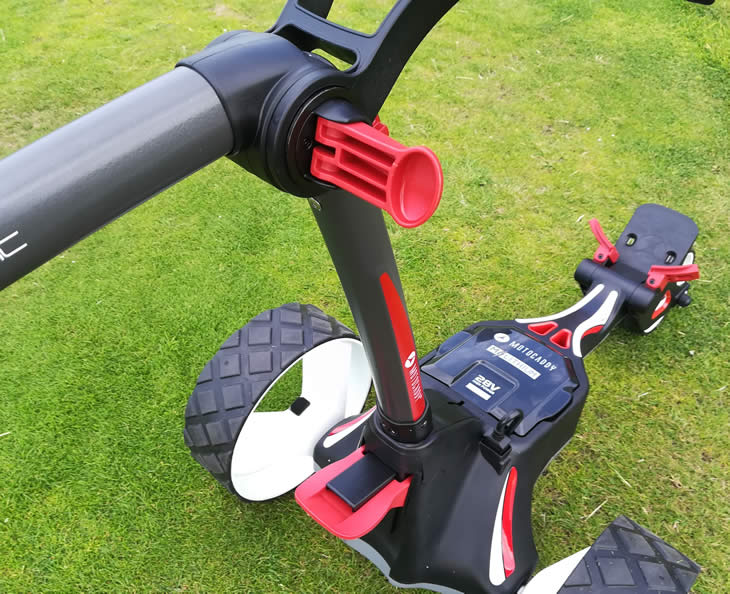 Motocaddy M1 2018 Golf Trolley Review - Golfalot