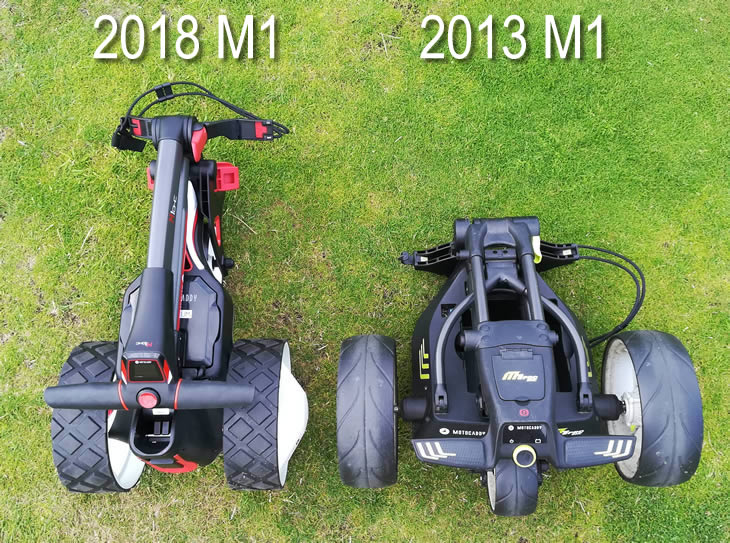 Motocaddy M1 2018 Golf Trolley