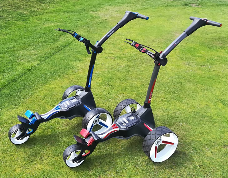 Motocaddy M Trolley Range