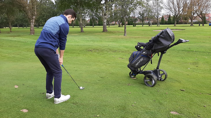 Motocaddy M5 GPS Trolley Review