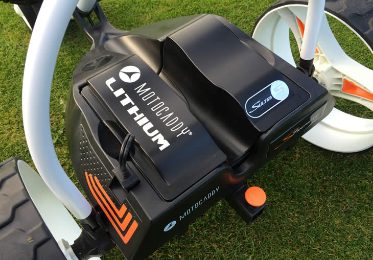 Motocaddy S7 Remote Golf Trolley