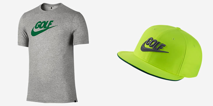 Nike Golf 2015 Apparel Tee-Shirt and Cap