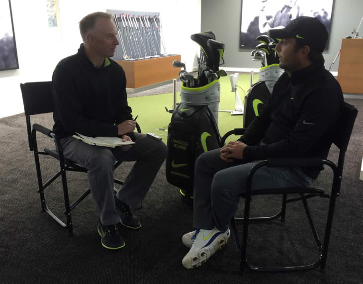 Francesco Molinari Interview