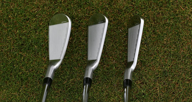 Nike VR Forged 9, 7 and 4 Iron At Address