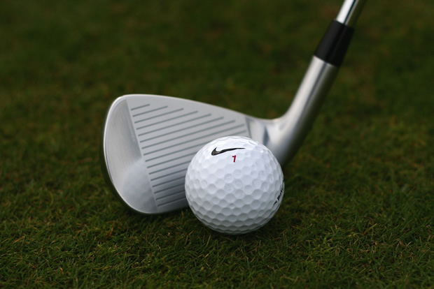Nike VR Forged Iron Behind Ball