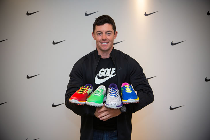 Rory McIlroy Nike Irish Open Shoes