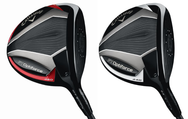 Callaway Optiforce Driver Heads