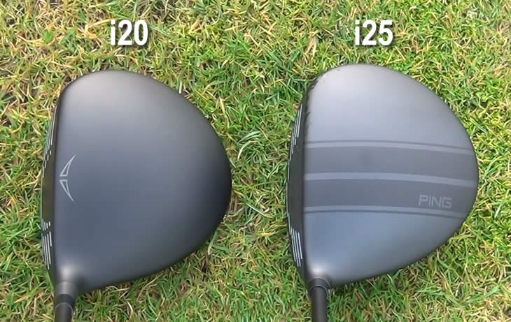 Ping i20 i25 Driver Address Comparison