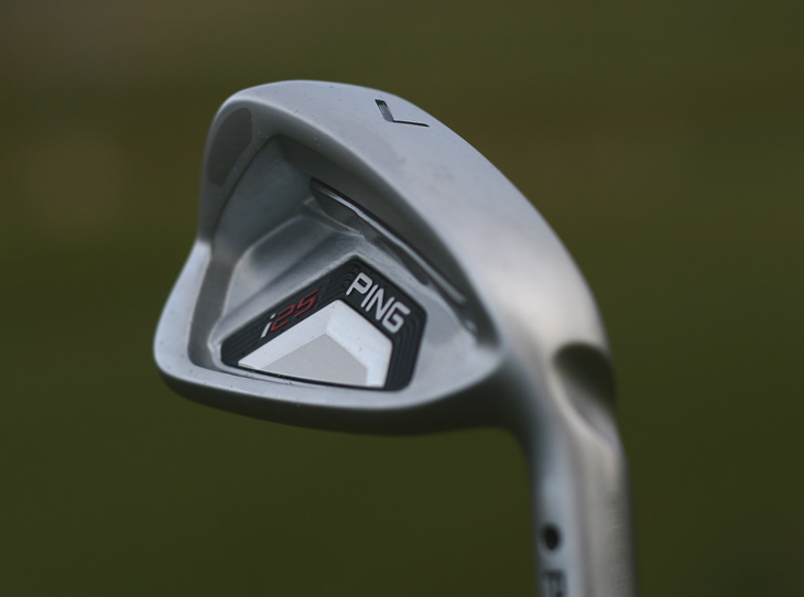 Ping i25 6-iron Sole Camber