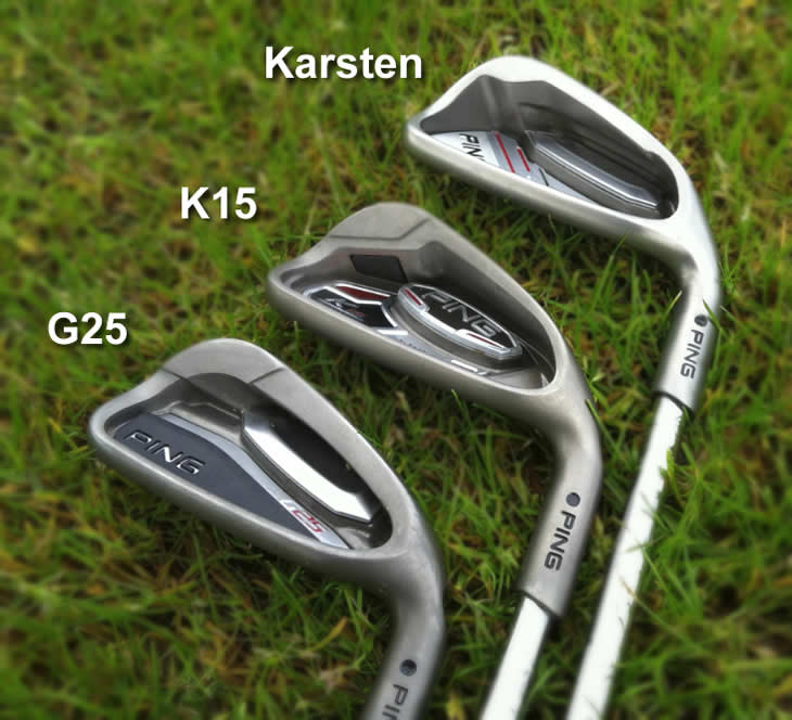 Ping Karsten Irons In Bag