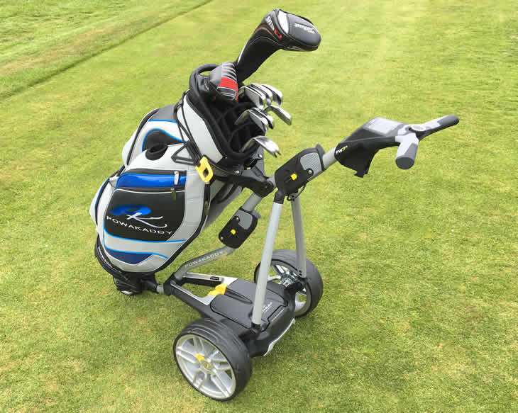 PowaKaddy FW7s Electric Golf Trolley