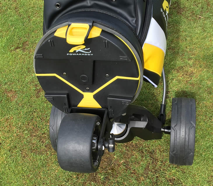 PowaKaddy Compact C2 Golf Trolley Review - Golfalot