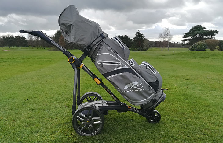 PowaKaddy Compact C2i GPS 2019 Golf Trolley Review - Golfalot