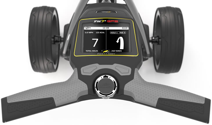 PowaKaddy FW7s GPS Golf Trolley