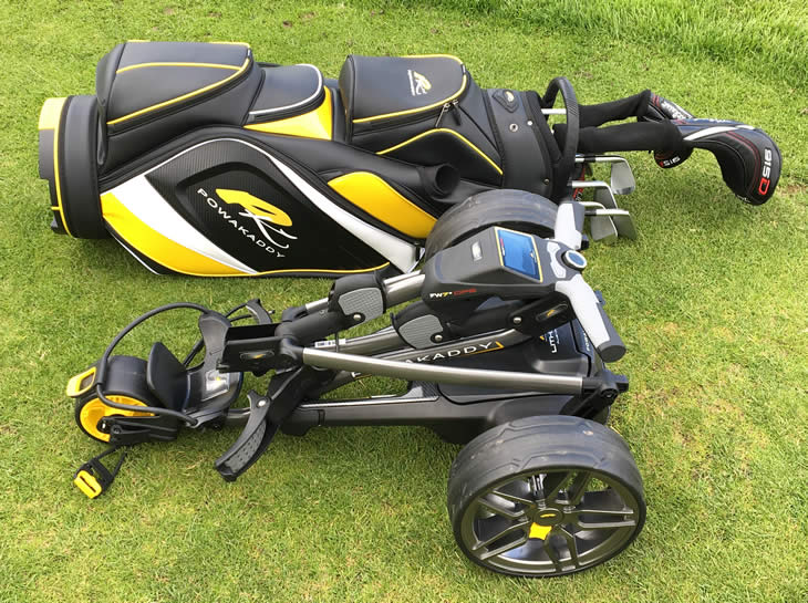 PowaKaddy FW7s GPS Golf Trolley Review - Golfalot