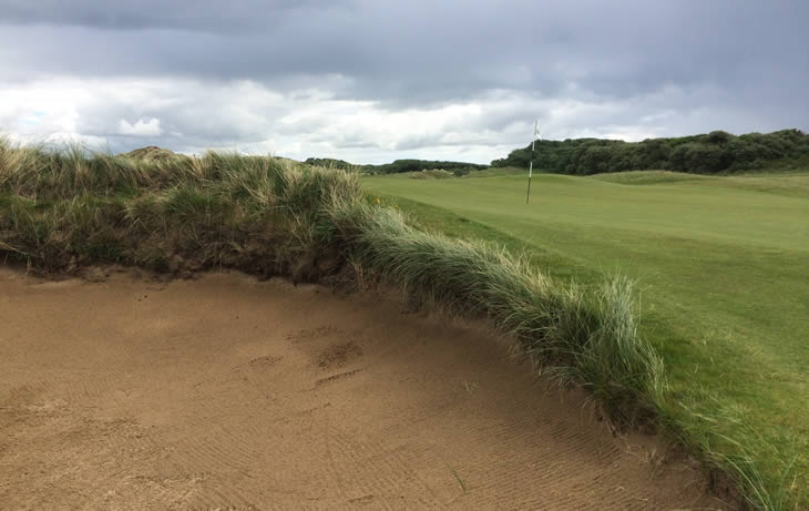 Royal County Down Bunker 2nd