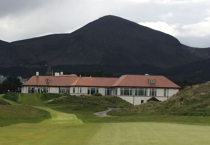Royal County Down Clubhouse