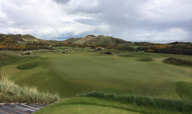 Royal County Down 4th Green