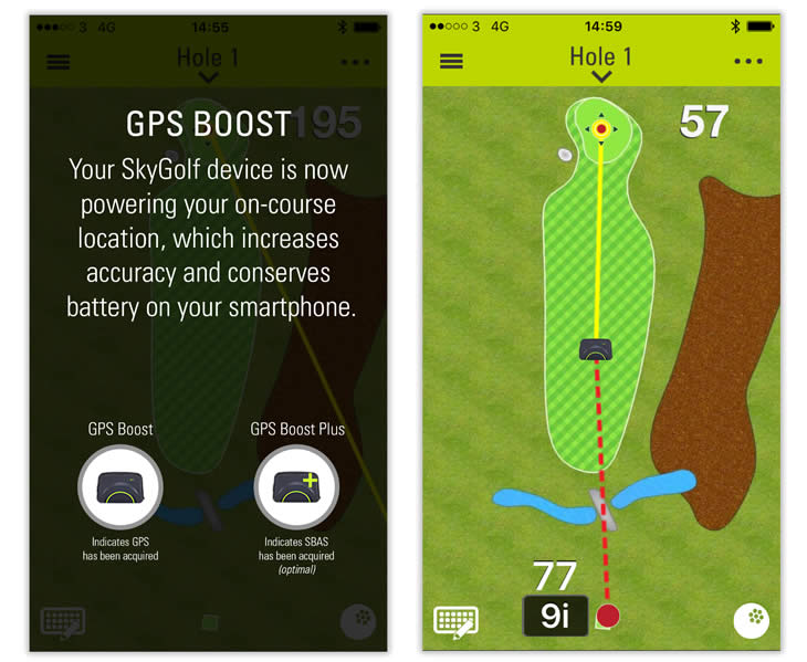 SkyCaddie SkyGolf Gametracker GT2