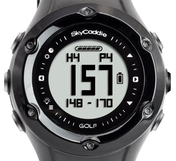 Close Up Of The SkyCaddie Linx Face