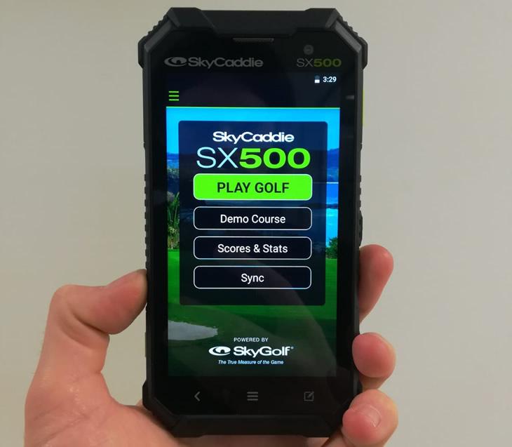 SkyCaddie SX500 Golf GPS Rangefinder Review - Golfalot