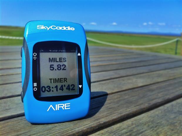 SkyCaddie Aire Odometer