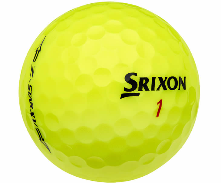 Srixon Z-Star XV Yellow Golf Ball 2015