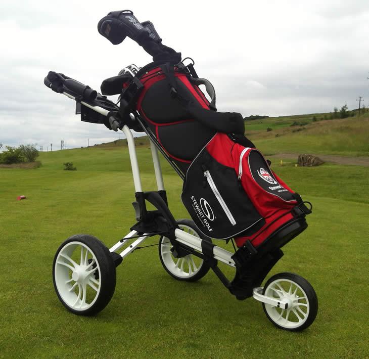 45d8eb61ad7 Stewart Z3 Golf Trolley Review - Golfalot